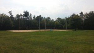 volley ball courts