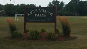 Village Park Sign